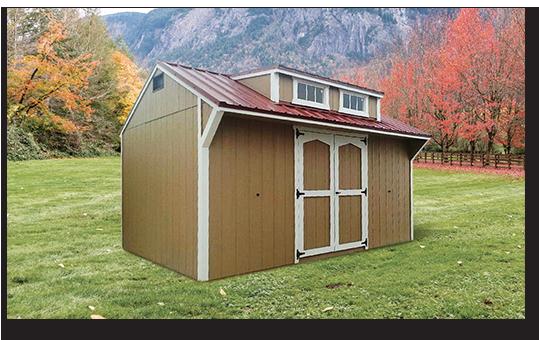 Custom Built Storage Sheds - Trailside Structures LLC