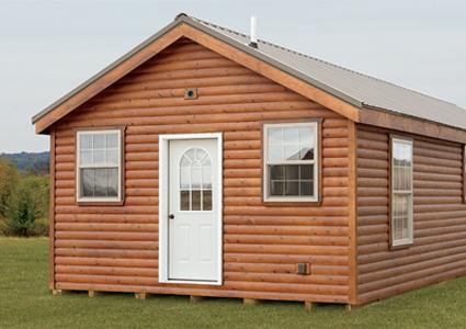 Pre built log cabin