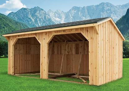Pre built shed