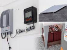 solar panels for dog house