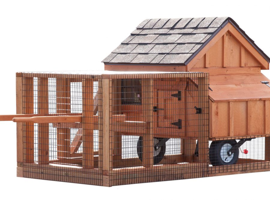 3'x3' A-Frame Tractor (back).