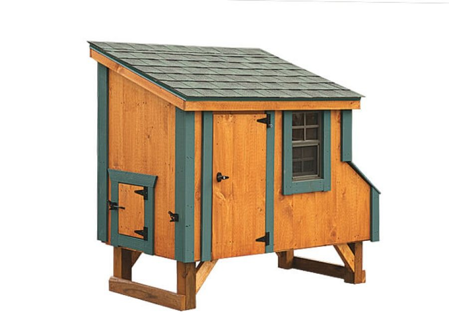 3'x5' Lean-To (back).