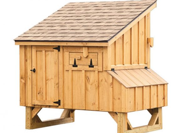4'x5' Lean-To (back).