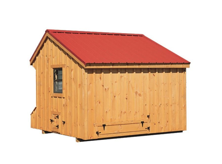 7'x12' Quaker w/Feed Room (back).